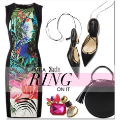 Put a ring on it by mirisproleca on Polyvore featuring moda, LBD and ring