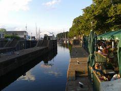 Muiden zeesluis Muiden locks In Muiden North Holland Netherlands