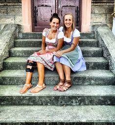 . #love #family #sister #sisters #thebest #girls #siblings #fun #party #team #wildcats #goodday #fun #summer #weekend #blondie #brownie #muc #munich #home #bavaria #weekend #mood #toertels #dirndl #tracht