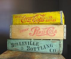I do believe I have somewhat of an unhealthy obsession with wooden crates.... by connie