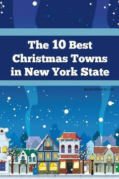 Whether you are a New York resident, or you are visiting for the holidays, you can find some pretty amazing places to visit here in the Empire State. New York Christmas, Christmas Town, Christmas Travel, Outdoor Christmas, Christmas Ideas, Texas Travel, Travel Usa, Best Places To Travel, Cool Places To Visit