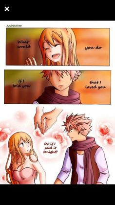Find images and videos about love, happy and fairy tail on We Heart It - the app to get lost in what you love. Fairy Tail Lucy, Fairy Tail Amour, Fairy Tail Meme, Fairy Tail Comics, Fairy Tail Nalu, Fairy Tail Ships, Fairytail, Gruvia, Nalu Comics
