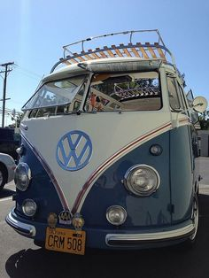 Beautiful Splitty Volkswagen Bus ☮ #VWBus ☮ pinned by www.wfpcc.com