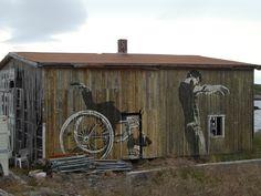 Street art - Lofoten, Norway