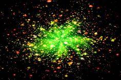 Zlatá zelená červená černá abstraktní vzor ohňostroje pro vizitku Business Card Stock, Business Cards, Black Abstract, Fireworks, Stock Photos, Fine Art, Illustration, Green, Pattern