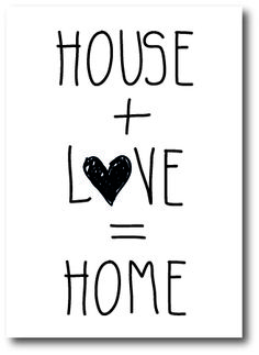 Kaart House + L<3ve = home te koop via http://www.toefwonen.nl/c-2412462/kaarten-papierwaren/
