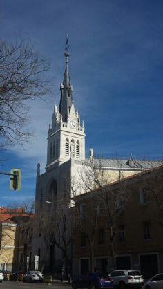 Iglesia convento de las Salesas de Nuestra Señora de la Visitación, calle Santa Engracia 18, Madrid. España.