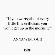 The most powerful figure in fashion, Anna Wintour on what 2017 may bring for the business of fashion in America and beyond.