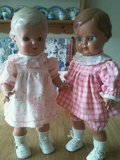Schildpadpoppen Christel-- en ik wilde echte poppen met echt haar; wat had ik een hekel aan deze omstreeks 1963