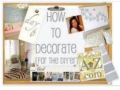 How to Decorate Series {day 6}: Window Treatment Tips by Just a Girl