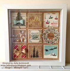 Christmas Collage Frame