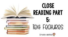 Learn how to teach #textfeatures to your 2nd, 3rd, 4th, 5th, 6th grade, or home school students and practice close reading. The features include table of contents, glossary, title page, headings, and more. This concept will help your students identify important information. Introduce these concept to your class during your next reading or ELA lesson. Use worksheets for centers or stations. {second, third, fourth, fifth, sixth graders} #Reading Close Reading, Guided Reading, Spanish Language Learning, Teaching Spanish, English Language, Language Arts, 1st Grade Activities, 4th Grade Classroom, Text Features