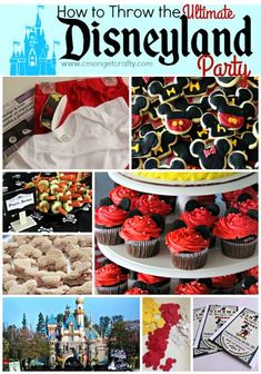 Would a Disneyland themed party be the perfect idea for your kid? Check out how I decorated my house as Disneyland, complete with Disney decorations and theme park food! Lots of free printables! Disney World Birthday, Disneyland Birthday, Disney Theme, 1st Birthday Parties, Birthday Ideas, 2nd Birthday, Minnie Birthday, Holiday Parties, Disney Parties