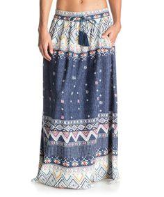 Loving this Kantha Geo Welly Maxi Skirt on #zulily! #zulilyfinds