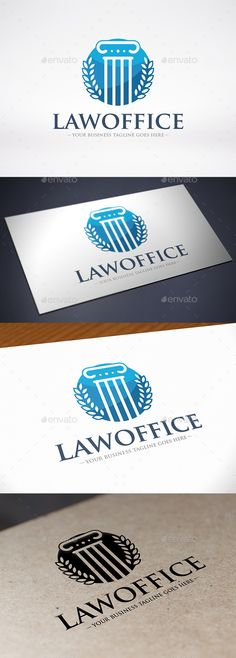 Law Firm Column Logo Template Vector EPS, AI #logotype Download: http://graphicriver.net/item/law-firm-column-logo-template/9235343?ref=ksioks