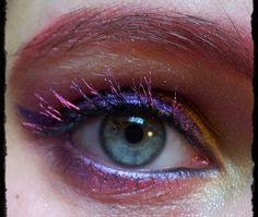 CereCere (Sailor Moon) inspired make up by http://she-and-her-blog.blogspot.de/2013/11/contest-make-up-dreamz-runde-15-cere.html