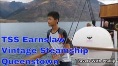 TSS Earnslaw Vintage Stemship, Queenstown, New Zealand We took a cruise to cross Lake Wakatipu. The grand old TSS Earnslaw, which has earned the affectionate. Queenstown New Zealand, Lake Wakatipu, Cruises, News, City, Classic, Travel, Vintage, Voyage