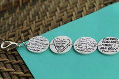 Personalized Scripture Bracelet by JewelryThatSpeaks on Etsy, $21.00