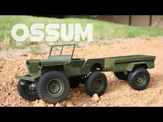 3D Printed MB Jeep and M416 Trailer in 1:10 Scale: 16 Steps (with Pictures)