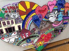 Personalised A4 Memory Doodle by Zipadeedoodle on Etsy, £55.00