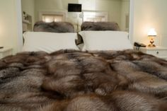Faux Fur Bedding, Fur Accessories, Fur Blanket, Stay In Bed, Fur Throw, Bedroom Styles, Fox Fur, Biodegradable Products, House Warming