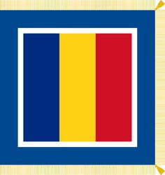 Flag of the President of Romania. Romania Travel, Presidents, Logos, Travelling, Landscape, Photography, Head Of State, Flags, Fotografie