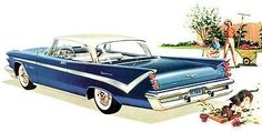 1959 DeSoto - Promotional Advertising Poster