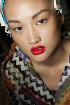 From tulip pink to tomato red - five great new lipsticks for sunny spring days: http://vogue.uk/lip