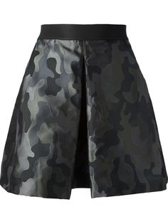 PINKO - camouflage mini skirt 6