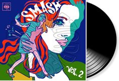 BARRAEZO PRESENTA:: V. A. - Smash Vol. 2 - CBS Columbia CL 2599 - 1969...