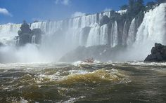 Iguazu Falls, no maps, satellite or virtual reality can never replace the physicality of such a place. 7 Natural Wonders, Iguazu Falls, Weather Underground, Niagara Falls, Places Ive Been, Photo Galleries, Tours, Landscape, Virtual Reality