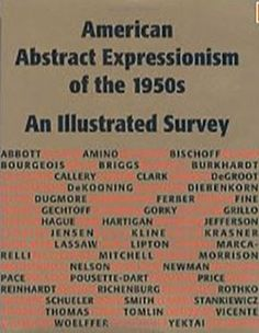 http://www.amazon.com/American-Abstract-Expressionism-1950s-Illustrated/dp/0967799414/ref=sr_1_3?s=books&ie=UTF8&qid=1428075681&sr=1-3&keywords=marika+Herskovic