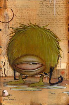 Johan Potma - Illustration - Monster - Land of the blind