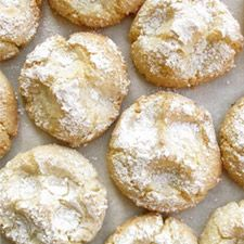 almond cloud cookies...anything with almond paste HAS to be good!