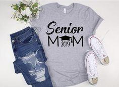 Senior Shirts T-Shirts Graduation Shirts For Family, Senior Class Shirts, Football Mom Shirts, Cheer Shirts, Vinyl Shirts, Senior Cheerleader, Cheerleading, Senior Sweatshirts, April 10th