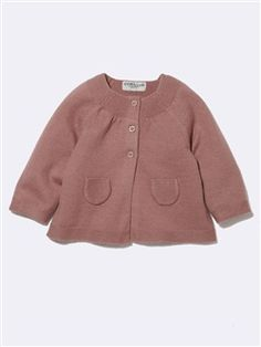 Silhouette BABY'S WOOL/COTTON CARDIGAN + BABY'S PRINTED SHIRT + BABY'S PADDED TROUSER WITH BOW + GIRL'S TERRY SOCKS: PACK OF 2 -