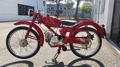 Moto Guzzi Motoleggera 65 restauro completo