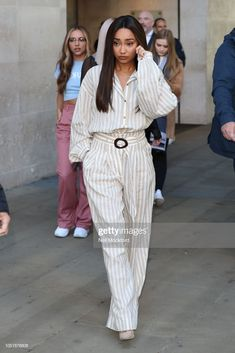 News Photo : Leigh-Anne Pinnock from Little Mix seen at BBC. Little Mix Outfits, Little Mix Style, Little Mix Girls, Little Mix Leigh Ann, Litte Mix, Looks Street Style, Celebrity Look, Fashion Outfits, Womens Fashion