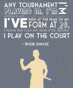 Novak Djokovic quote