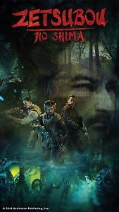 """Call Of Duty Black Ops 2 Mob Of The Dead Poster 42x28/"""" 36x24/"""" 20x13/"""" Zombie Silk"""