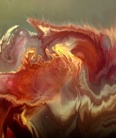 Modern Fluid Abstract Art by kredart.com