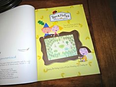 Confessions of a new Mummy: Review: Personalised Ben & Holly Book from Penwizard