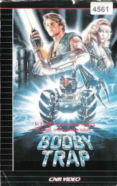vhs-ninja:  Booby Trap aka Wired to Kill (1986) by Francis Schaeffer. In 1998, A war will be fought by a girl, a boy and a robot…
