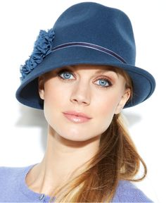 84620fb8d37 August Asymmetrical Felt Fedora Hat Handbags   Accessories - Macy s. Womens  Winter HatsLadies ...