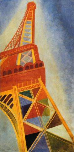 Eiffel Tower 1926 | Robert Delaunay | Oil painting reproductions
