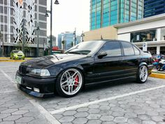 BMW E36 3 series on AC Schnitzer wheels