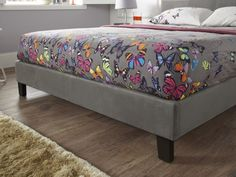 Evelyn Double Bed - Foot end