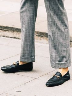 30 Must-Have Shoes That Go With Everything — Who What Wear Modest Fashion, Fashion Shoes, Gucci Loafers, Who What Wear, Must Haves, Everything, 30th, Footwear, How To Wear