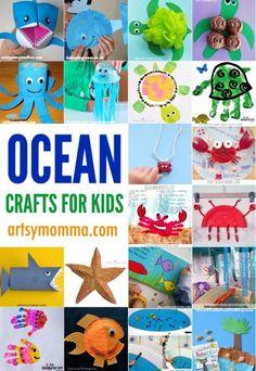 20 Fun Ocean Crafts for Kids