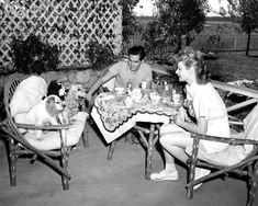 """sparklejamesysparkle: """"Lucille Ball and Desi Arnaz with their Cocker Spaniels at the Desilu Ranch, Chatsworth, California, 1944 """" I Love Lucy Show, Love Is All, Jane Withers, Desi Love, Lucy And Ricky, Lucy Lucy, Queens Of Comedy, Lucille Ball Desi Arnaz, Old Hollywood Stars"""